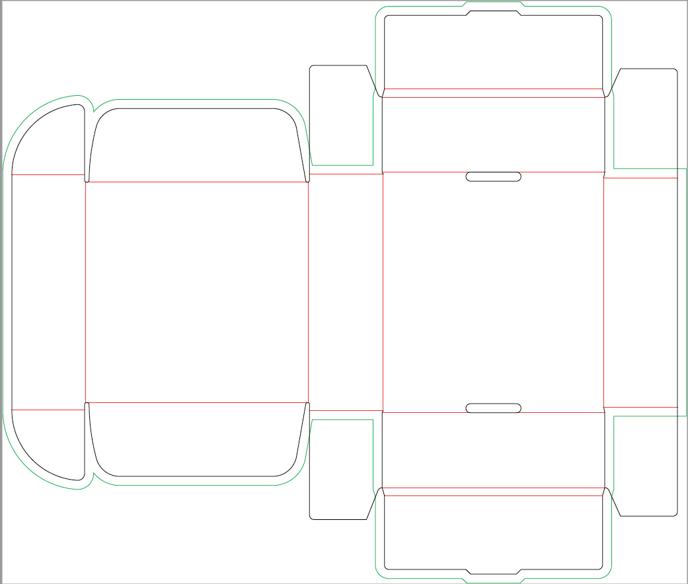 dieline template example