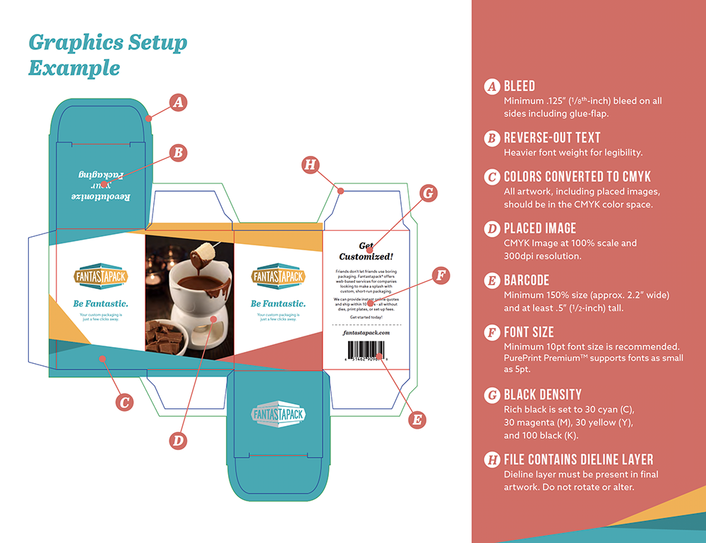 Fantastapack Graphics Setup Example